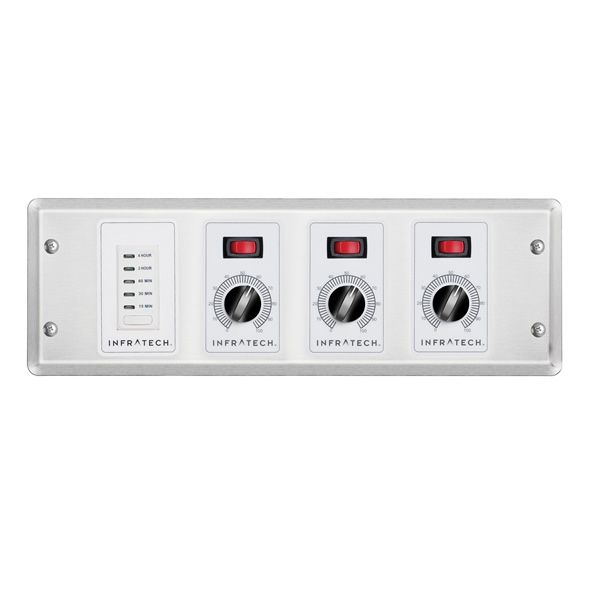 Infratech 3 Zone Remote Analog Control with Timer image number 0