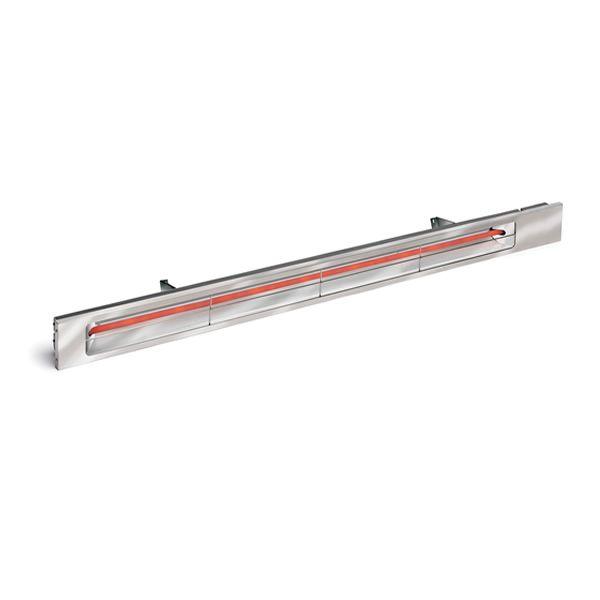 "Infratech 42.5"" Silver Slim Line 240V Heater - 2,400 Watt image number 0"