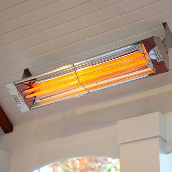 """Infratech 6000 Watt WD Series Commercial Wall-Mount Patio Heater - 61 1/4"""" image number 4"""