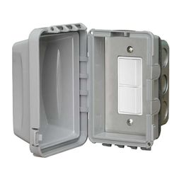 Infratech In-Wall Single Duplex Switch for Flush Mounting