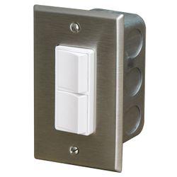 Infratech In-Wall Single Duplex Switch