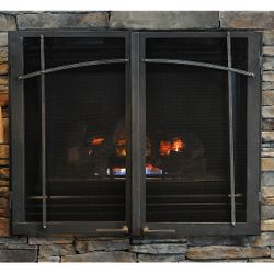 Classic ZC Fireplace Glass Door