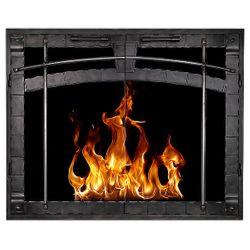 Beartooth ZC Fireplace Glass Door