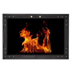 Brentwood ZC Fireplace Glass Door