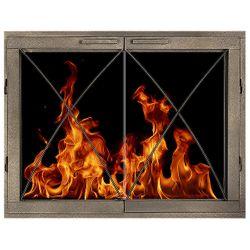 Birghton ZC Fireplace Glass Door