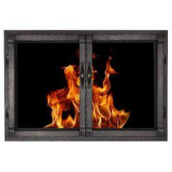 Grayson ZC Fireplace Glass Door