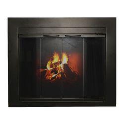 Freemont Masonry Fireplace Glass Door