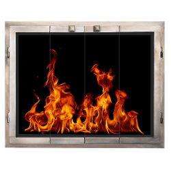 Original ZC Fireplace Glass Door