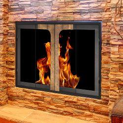 Maxfield ZC Fireplace Glass Door