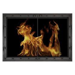 Summerton ZC Fireplace Glass Door