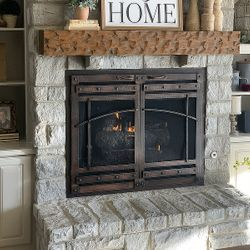 Traditional Fireplace Reface