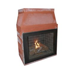 Isokern Maximus Direct Vent Fireplace - 48""