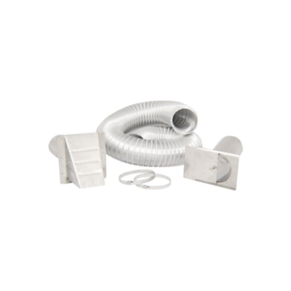 Isokern Outside Air Kit - Stainless Steel image number 0