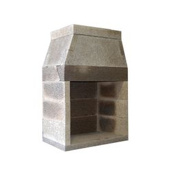 Isokern Standard Outdoor Fireplace - 36""