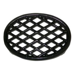 Jet Black Lattice Wood Stove Trivet