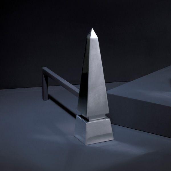 Obelisk Andirons image number 2