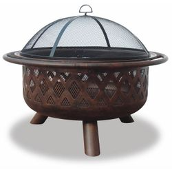 Oil Rubbed Bronze Fire Bowl