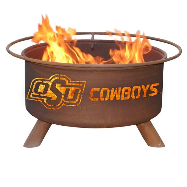 Oklahoma State Fire Pit image number 0