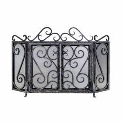 Oliver Cast Iron Fireplace Screen