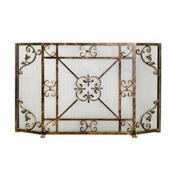 Ornamental Designs Daphne Fireplace Screen
