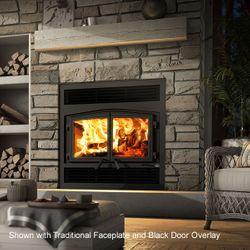 Osburn Stratford II Zero-Clearance Wood Stove Fireplace