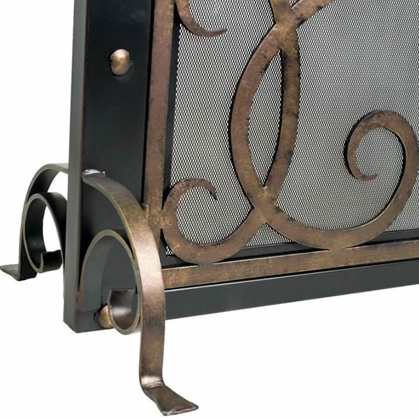 Othello Cast Iron Fireplace Screen image number 1