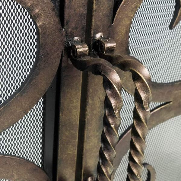 Othello Cast Iron Fireplace Screen image number 2