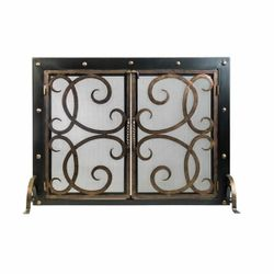 Othello Cast Iron Fireplace Screen