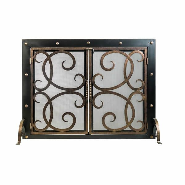 Othello Cast Iron Fireplace Screen image number 0