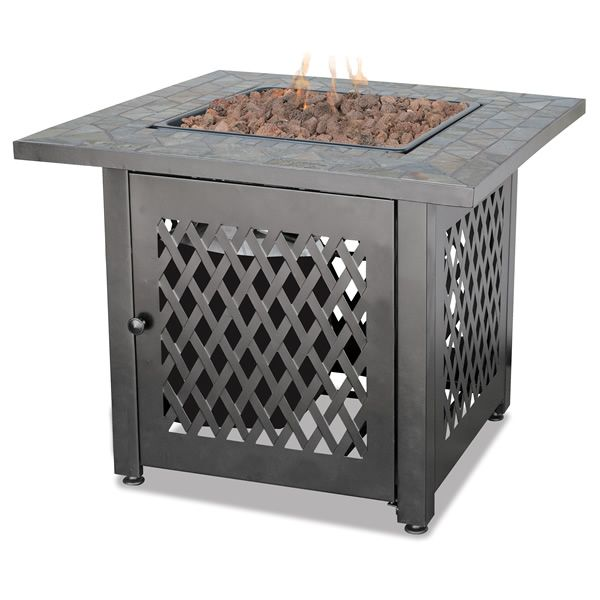 Fire Pit Table with Slate Tile Mantel - LP image number 0