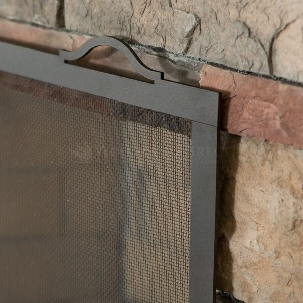 """Oxford Fireplace Screen - 44"""" x 34"""" image number 3"""