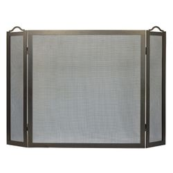 "Oxford Three Panel Fireplace Screen - 8"" x 30"" x 30"""