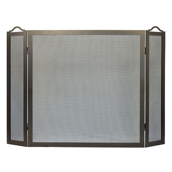 """Oxford Three Panel Fireplace Screen - 8"""" x 30"""" x 33"""" image number 0"""