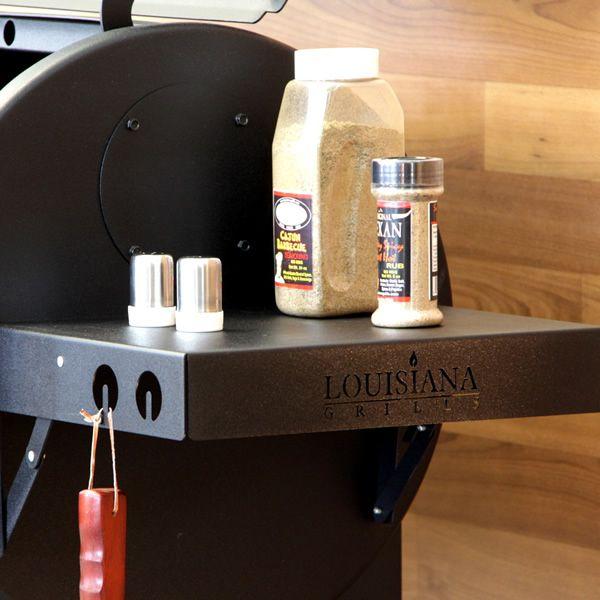 "Louisiana Grills Side Shelf Black - 12"" x 14 1/2"" image number 5"
