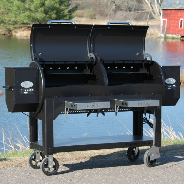 Louisiana Grills WH 1750 Whole Hog Wood Pellet Grill image number 5