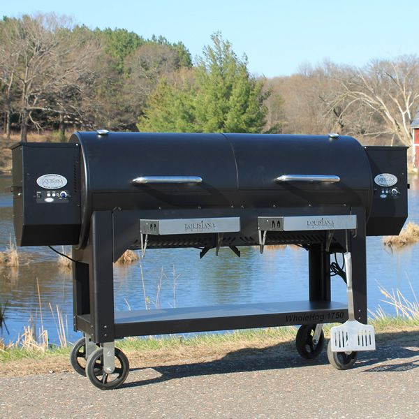 Louisiana Grills WH 1750 Whole Hog Wood Pellet Grill image number 6