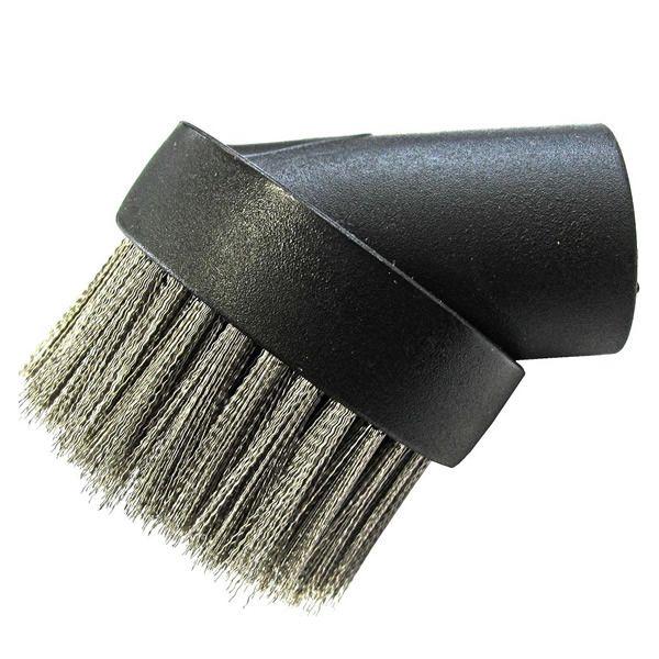 Loveless Ash Vacuum Wire Brush Tool - Round image number 0