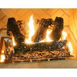 "Log Set for 12"" x 24"" Rectangular Crystal Burner"