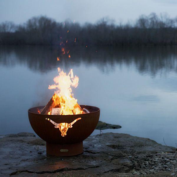 Longhorn Wood Burning Fire Pit image number 1