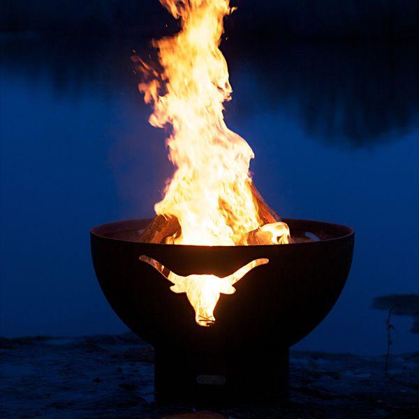 Longhorn Wood Burning Fire Pit image number 2