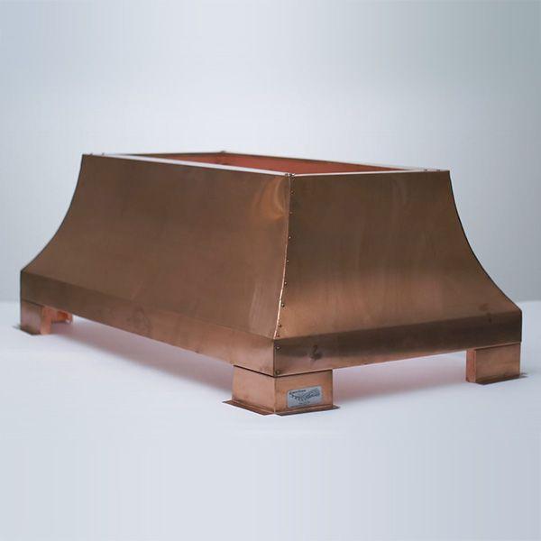 London Square Chimney Shroud - Copper image number 0