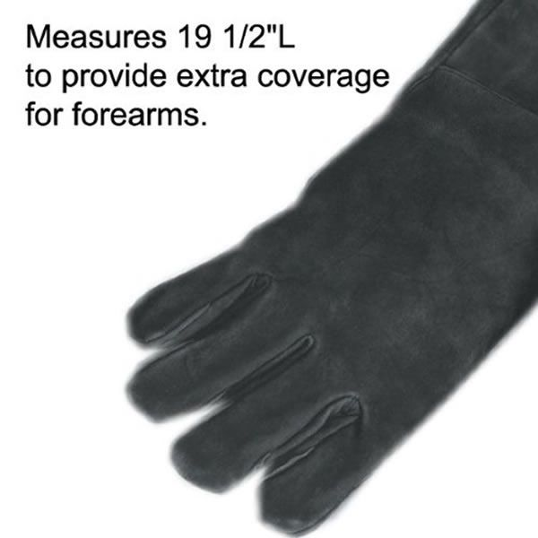 Ladies' Long Suede Hearth Gloves image number 3