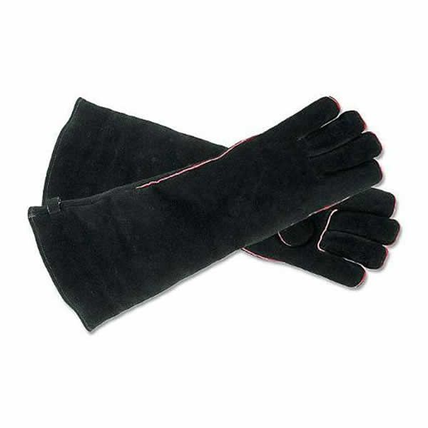 Ladies' Long Suede Hearth Gloves image number 0