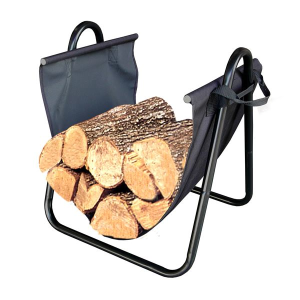 Landmann Indoor Log Holder with Canvas Carrier image number 0