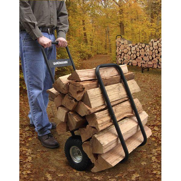 Landmann Log Carrier with Cover - Black image number 3