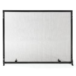"Colonial Flat Fireplace Screen - 44"" x 33"""