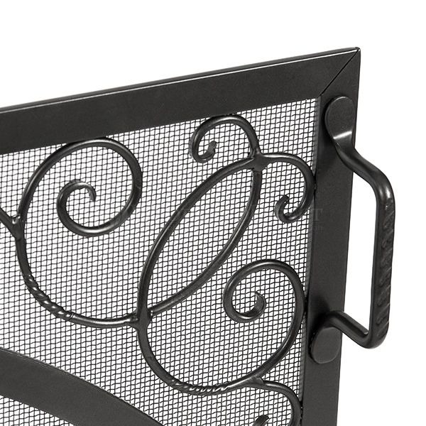 """Sterling Single Panel Fireplace Screen - 44"""" x 33"""" image number 1"""
