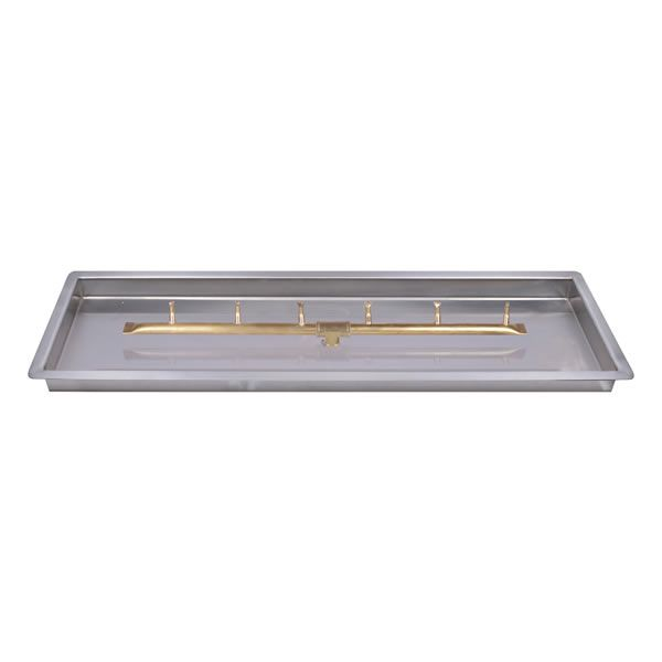 "Linear Drop-In Brass Bullet Burner System - 36"" - Match Cert image number 0"