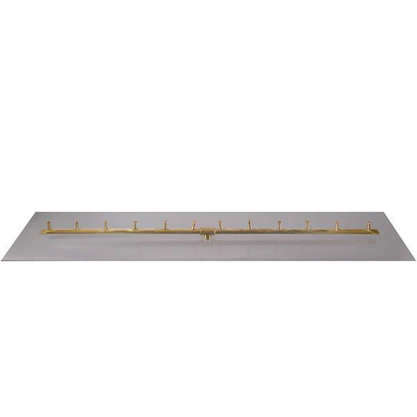 """Linear Brass Bullet Burner System - 36"""" - Match Lit Cert. image number 0"""