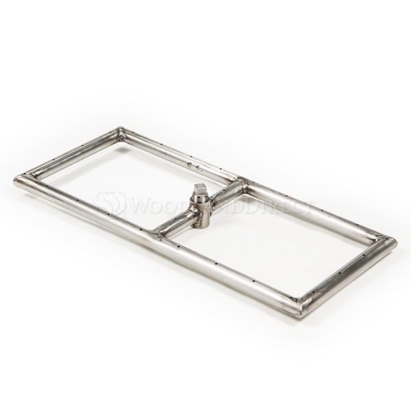 """Linear Stainless Steel Gas Fire Pit Burner - 18"""" image number 0"""